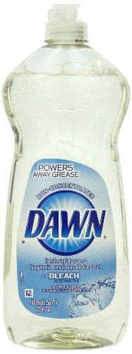 Dawn Non-Ultra with Bleach Alternative Fresh Rapids Dishwashing Liquid 25 Fluid Ounce (Pack of 5) (Dawn Dish Soap 25 Oz compare prices)