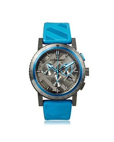 Burberry Men's BU9812 The City Blue/Black Ion-Plated Steel Watch