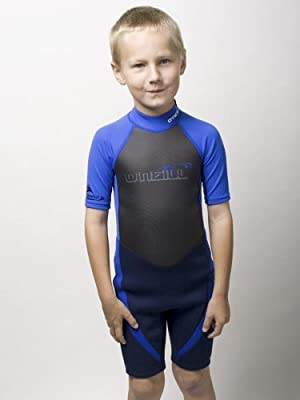O'Neill Reactor Hybrid Neoprene/Lycra Shorty Kids Wetsuit for Swim Surf Snorkel
