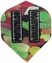 Pentathlon - 2040 - Jelly Beans - 3 Sets of 3 Double Thick Standard Wide Shaped Dart Flights