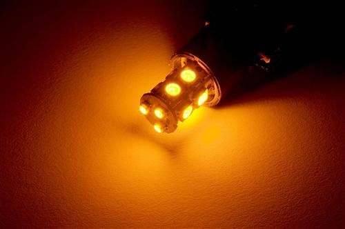 Putco 234157A Premium Automotive Lighting Nova Amber Led Bulb