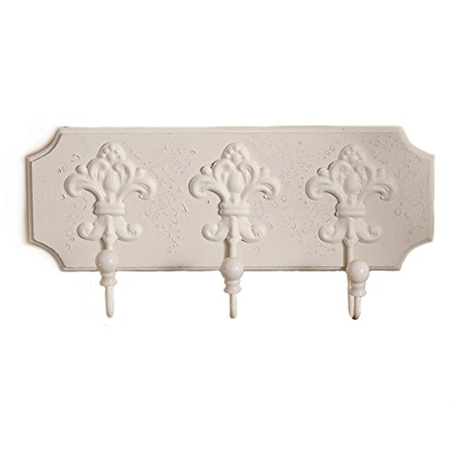 T-JULY Retro Creatives Coats HatsBehind The Door Hook Rack For Home And Kitchen