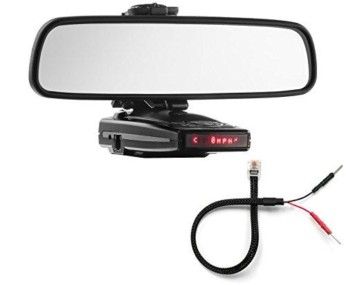PerformancePackage Mirror Mount Bracket + Mirror Wire Cord - Escort 9500iX Redline