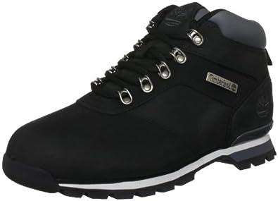 Timberland Euro Hiker FTB_Splitrock 2 6161R, Herren Chukka Boots, Schwarz (Black Nubuck), EU 43.5 (US 9.5)