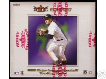 2003 Fleer Avant Baseball Cards Hobby Box