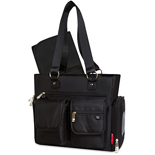 Fisher-Price Fastfinder Black Tote Bag