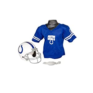 NFL Indianapolis Colts Replica Youth Helmet and Jersey Set