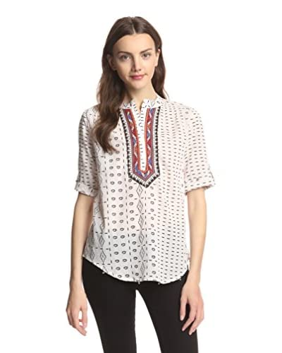 Raga Women's Embroidered Printed Top