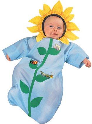 Newborn Baby Sunflower Flower Costume (0-6 Months)