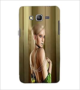 PrintDhaba Cute Girl D-5499 Back Case Cover for SAMSUNG GALAXY GRAND PRIME (Multi-Coloured)