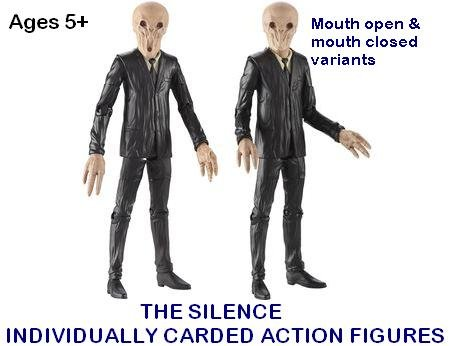 Picture of Character Options DOCTOR WHO SERIES 6 THE SLIENCE ACTION FIGURE SET (B005EY1INU) (Character Options Action Figures)