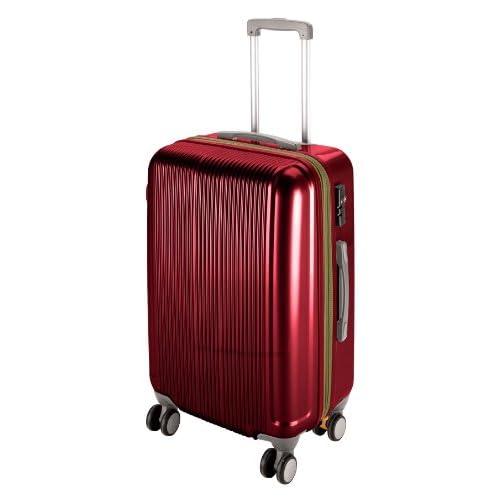キャプテンスタッグ(CAPTAIN STAG) グレル トラベルスーツケース TSAロック付きWFタイプ L ワインレッド UV-25