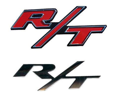 "Mopar 4806323Aa Oem Dodge Charger ""R/T"" Decorative Emblems - R/T Rear Emblem In Red"