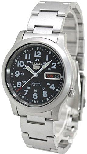[セイコー]SEIKO 腕時計 5 AUTOMATIC オートマチック SNKN25K1 メンズ [逆輸入]