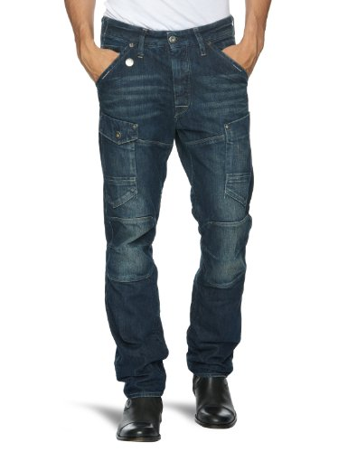 G-Star Basics Gn 5620 3D Tapered Men's Jeans Dark Aged W30 INxL34 IN
