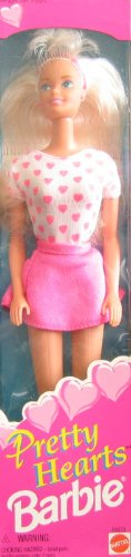 Pretty Hearts Barbie Doll (1995) - 1