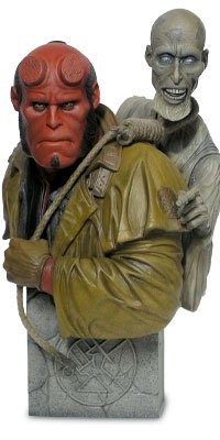 Buy Low Price Sideshow Hellboy with Corpse Bust Figure (B000KFX19M)