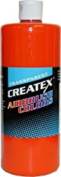 Createx 5119-QT Createx Orange Transparent Airbrush Color CREATEX TRANSPARENT 32 OZ.