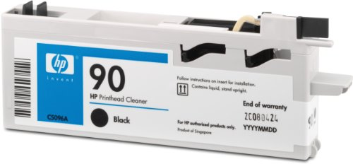 HP 90 Black Printhead Cleaner This Black Printhead Cleaner (not Packaged with Th