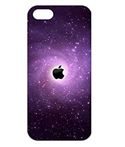 Dzinetree Iphone 5s Back Cover Case For Apple Iphone 5s - Black