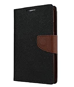 YGS Premium Diary Wallet Case Cover For Samsung Galaxy Note Edge SM-N915G-Brown
