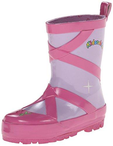 Kidorable - Kid's Pink Ballerina Rain Boots