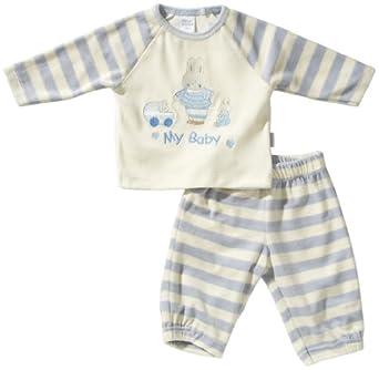 Stummer Unisex - Baby Bekleidungsset 11379, Gr. 62, Blau (713 heather)