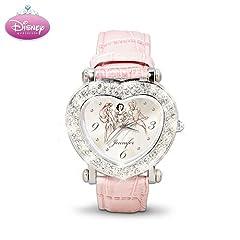 Disney Princess Personalized Swarovski Crystal Watch