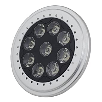 LED PAR36 Spot Light AR111 Base 9W 700Lm 12V Warm White 2700K 1 Yr Warranty