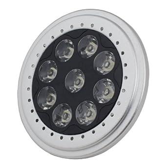 LED PAR36 Spot Light AR111 Base 9W 700Lm 12V Warm White 2700K 1 Yr Wty