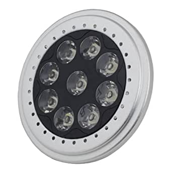 LED PAR36 Spot Light AR111 Base 9W 750Lm 12V Natural White 6000K 1 Yr Wty