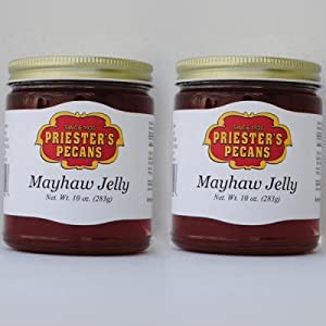 Priester's Wild May haw Jelly, 2-10 oz. Jars