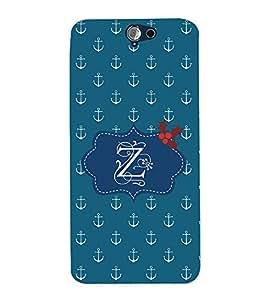 EPICCASE anchor of z Mobile Back Case Cover For HTC One A9 (Designer Case)