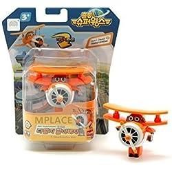 mini Daalji - Super Wings Trasformare aereo giocattolo divertente Flux TV Character Animation