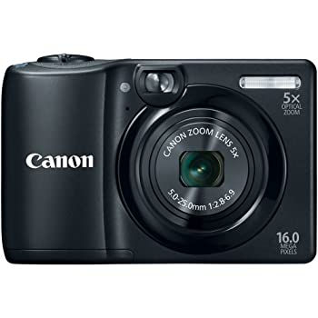 Set A Shopping Price Drop Alert For Canon PowerShot A1300 16.0 MP Digital Camera with 5x Optical Zoom 28mm Wide-Angle Lens (Black)