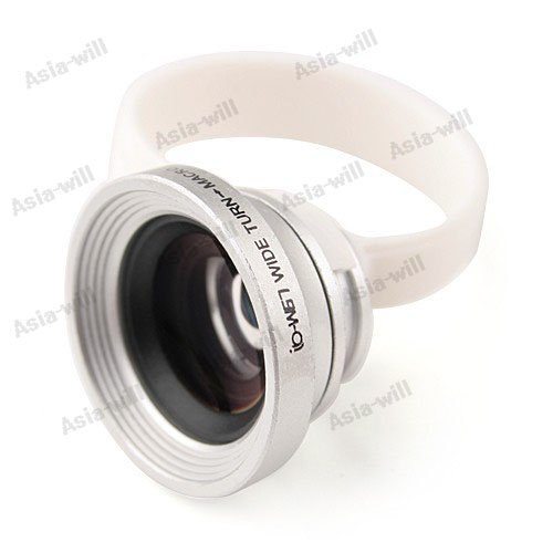 Universal Clip-On Wide Angle Macro Lens For Iphone 5/ 4S / For Ipad 4