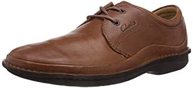Clarks Sentry Cry, Chaussures de ville homme - Marron (Mahogany Leather), 40 EU (6.5 UK)