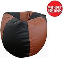 Orka XL Bean Bag Cover - Black and Tan