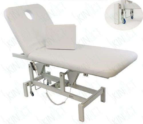 Opal Electric Facial Bed Massage Table With Reclinable Height And Back By Skin Act