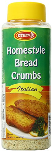 Osem Homestyle Bread Crumbs, Golden Crisp, 15 Ounce (Pack of 12) (Fine Bread Crumbs compare prices)