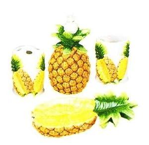 pineapple 3 d ceramic bathroom bath
