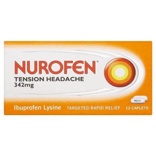 Nurofen Tension Headache Tablets 342Mg 12
