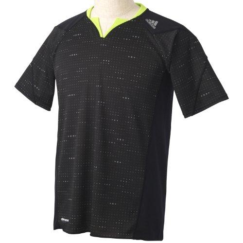 (アディダス)adidas 叶衣 グラフィック Tシャツ S/S DDY57 F92974 ブラック J/M