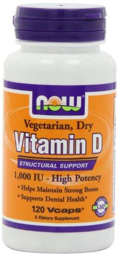 NOW Foods Vit D-2 1000iu Haute Puissance, 120