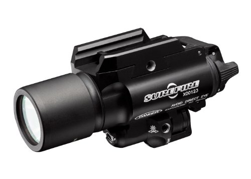 Surefire Led Handgun Weapon Light With Laser