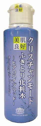 ふきとり化粧水クリスチャンモード ヒアロハイブリッド100ml美肌良好
