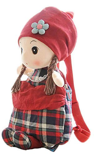 cute-childrens-backpack-for-school-toddle-backpack-baby-bag-red-plaid