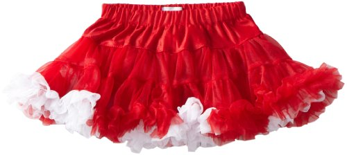 Mud Pie Baby-Girls Infant Christmas Pettiskirt, Multi Colored, Small 0-12 Months