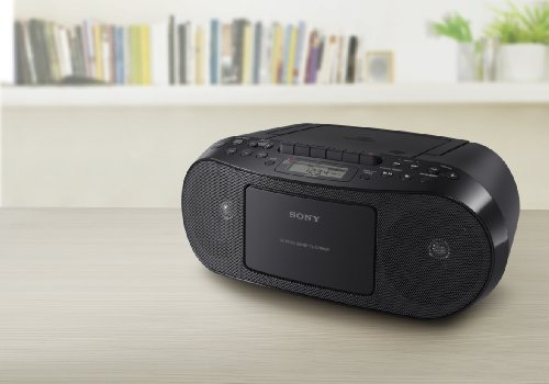 sony cfds50 portable cd cassette am fm radio boombox recomended products. Black Bedroom Furniture Sets. Home Design Ideas