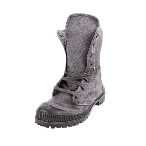 Natural World Vegan Bota Boton Woman Grey 39